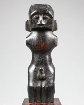 Indonesia, Borneo, Kalimantan, Dayak, wood, guardian